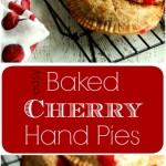 Cherry Hand pies PT