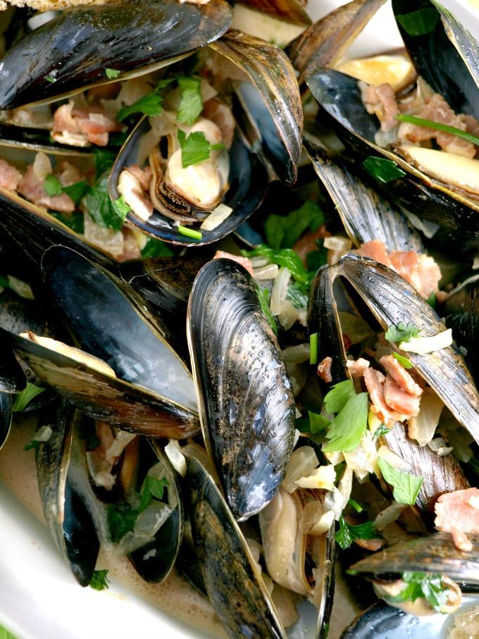 Irish Mussels in Ale