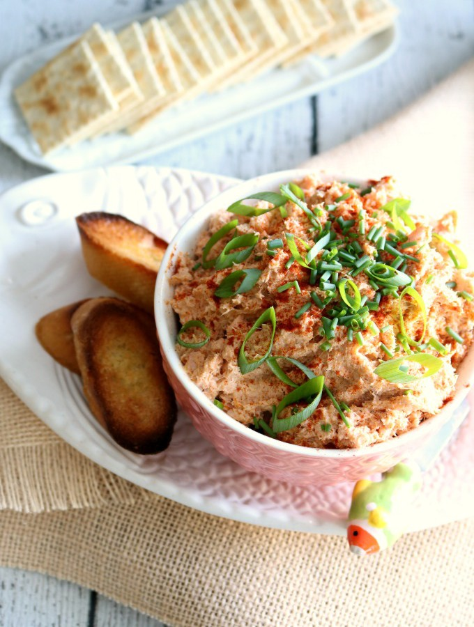 Salmon Rillettes Spread