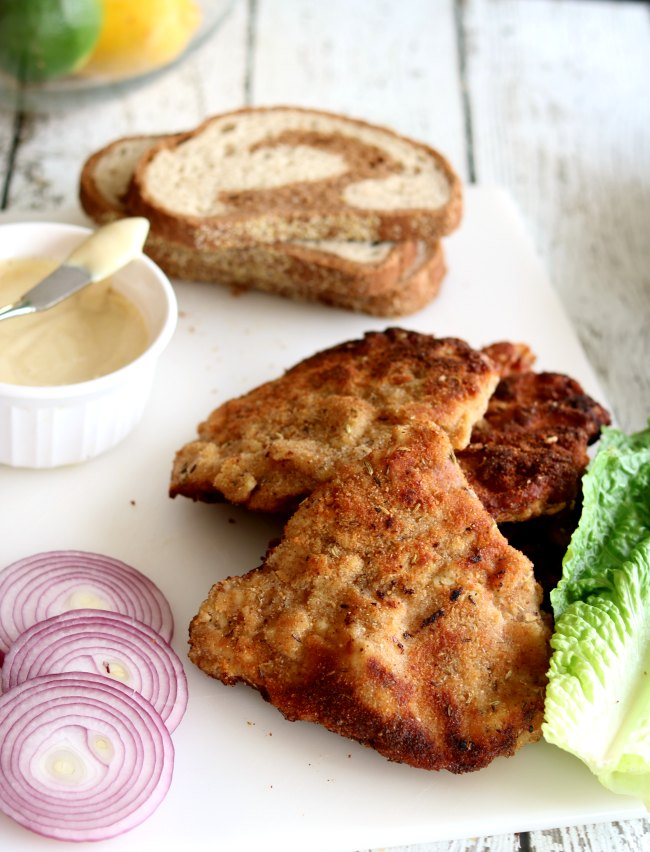 The flavors from the caraway and fennel seeds make this German Pork Schnitzel so tasty it's ridiculous!