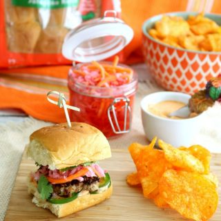Ground Pork Banh Mi Sliders