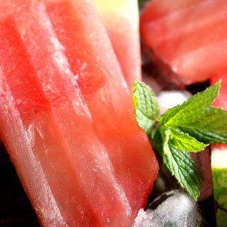 Boozy Watermelon Margarita Popsicles