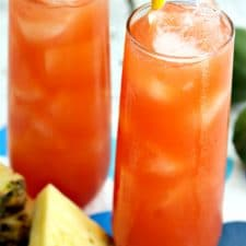 This Caribbean Rum Punch is smooth and satisfying. The drink mixture itself is powerful but without being overpowering.