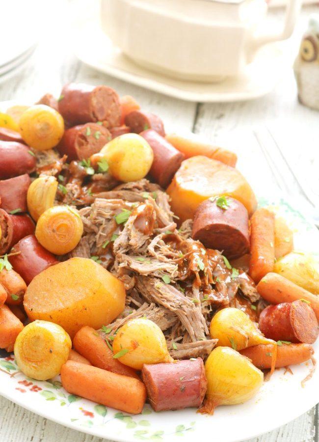 Crock Pot Portuguese Pot Roast