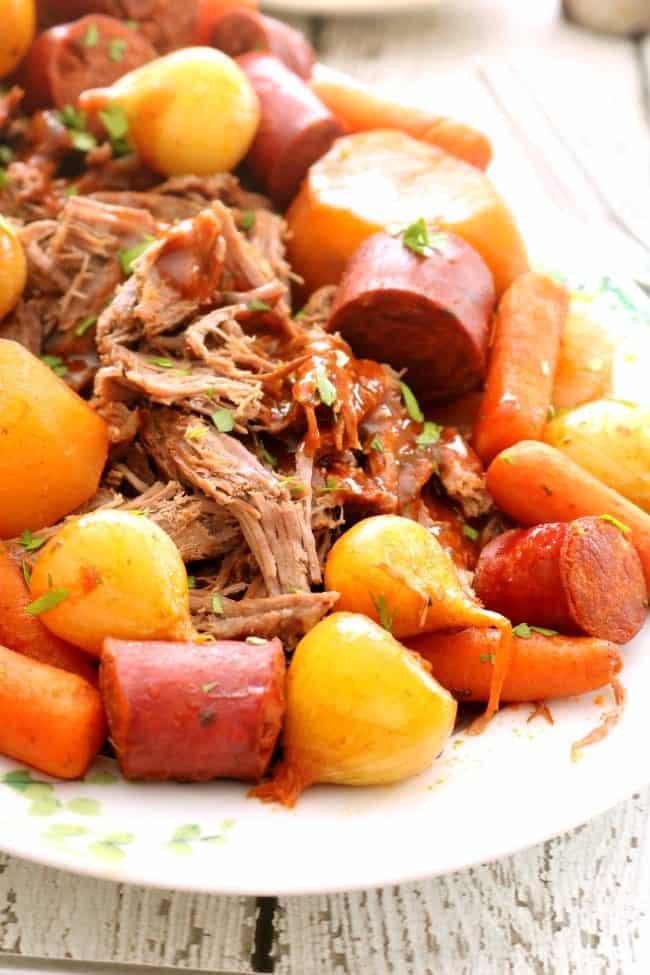 recipe: how to thicken pot roast gravy in crock pot [30]
