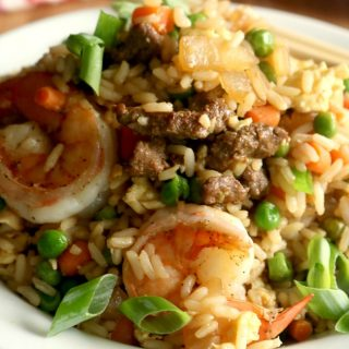 """Fully Loaded """"House"""" Fried Rice"""