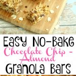 No Bake Granola Bars 4