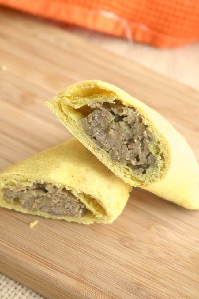 One of the best beef patties we've tried in our travels has been the Jamaican Beef Patty: spicy, savory and delicious. It makes a great meal, appetizer or snack.