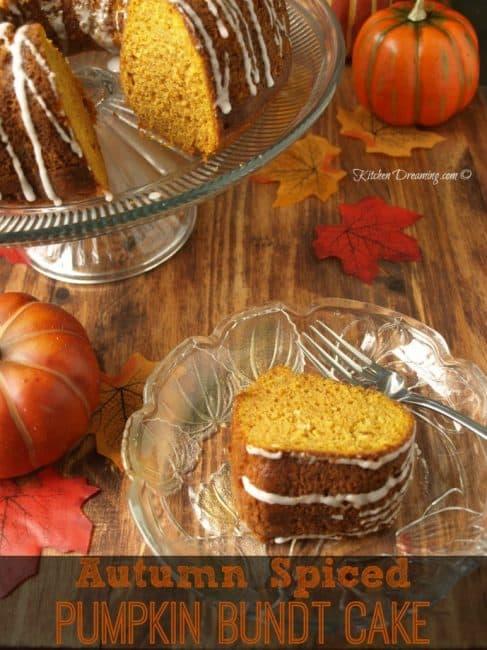 Autumn Spiced Pumpkin Bundt Cake