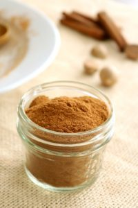 Homemade Pumpkin Pie Spice Blend is super simple, takes 5-minutes and only 5-ingredients! It's sugar-free and gluten-free, too.