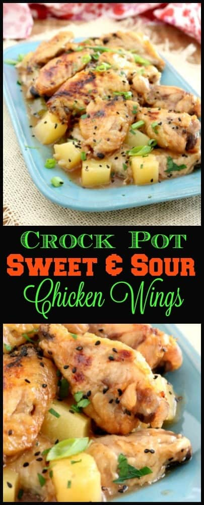 Making your own Crock Pot Sweet and Sour Chicken Wings is easy and economical and starts with ingredients you probably already have in your pantry.