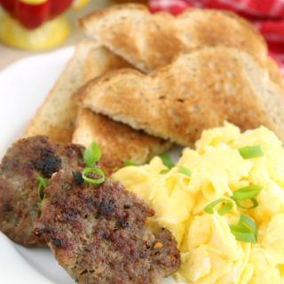 Homemade Breakfast Sausage – Freezer-friendly, MSG-free, Preservative-free and Gluten-Free