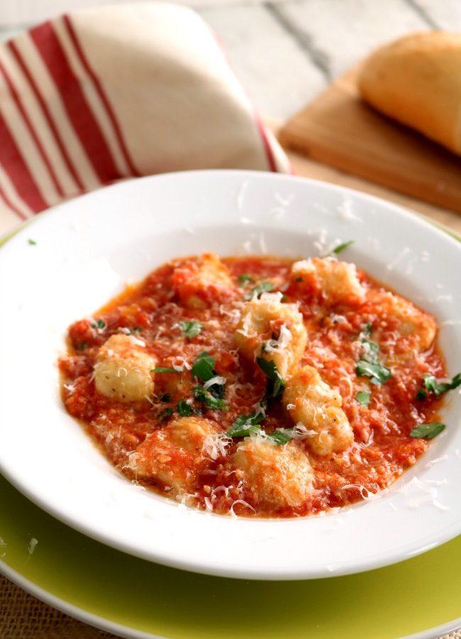 Gnocchi in Pomodoro Sauce