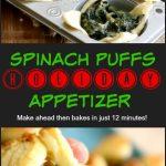 Spinach puffs appetizer 7 PT