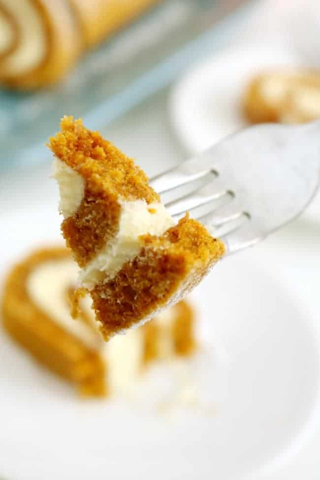 Pumpkin cake, also called pumpkin roll cake, is easy to make and sure to please. It's perfect for Thanksgiving & Christmas gatherings. Try this pumpkin roll cake once and I'm sure you'll be making it often!