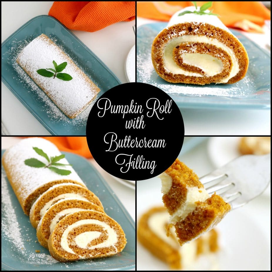 Pumpkin Roll With Cake Mix