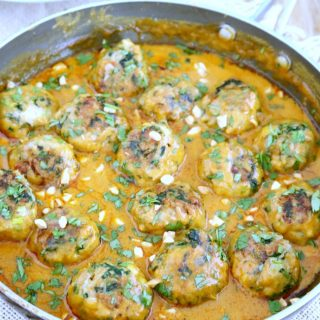 Thai Peanut Curry Meatballs (Pra Ram)