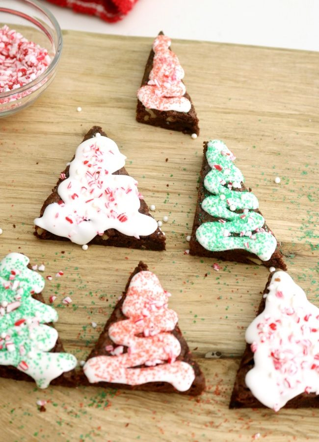 Christmas Tree Brownies: An Easy Cooking With Kids Recipe