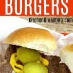 Copycat Krystal Burger Recipe Image MAIN