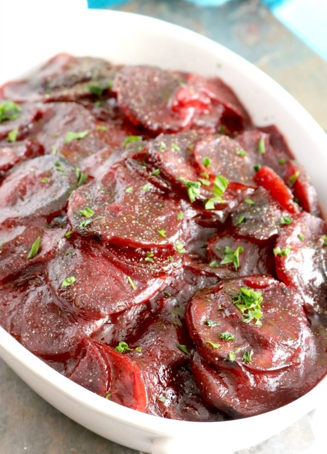 Easy Sweet and Sour Harvard Beets