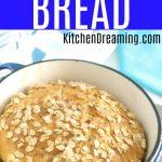 No Knead Oatmeal Bread MAIN