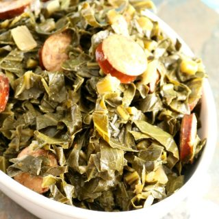 Easy Braised Collard Greens