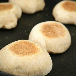 Bread machine English muffins 5 650