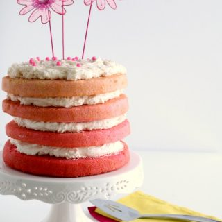 Pink Ombre Cake 3 650