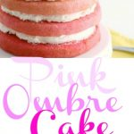 Pink Ombre Cake 5PT