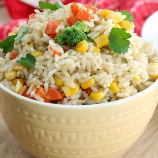 Garden Vegetable Rice
