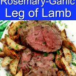 Boneless Rotisserie rosemary garlic lamb MAIN
