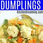 Instant Pot Chicken and Dumplings MAIN
