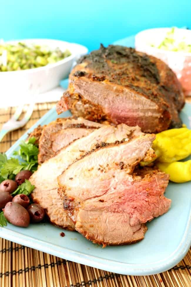 Try this Rotisserie Boneless Leg of Lamb recipe for your holiday meal or Sunday supper. You won't be disappointed and neither will your guests! The rotisserie evenly roasts and bastes large cuts of meat to tender and juicy perfection.