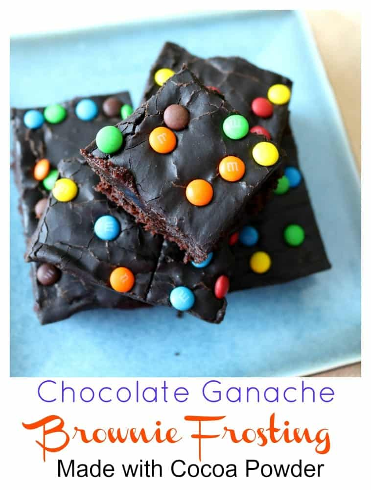 These chocolate ganache brownies start with a rich fudge brownie base and are topped with a decadent dark chocolate brownie frosting. MMMMmmmmm! You know you want one. Come on over to my kitchen and try one!