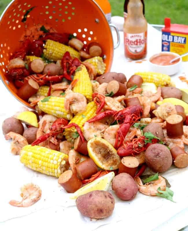 Summer in South Carolina: Lowcountry Boil