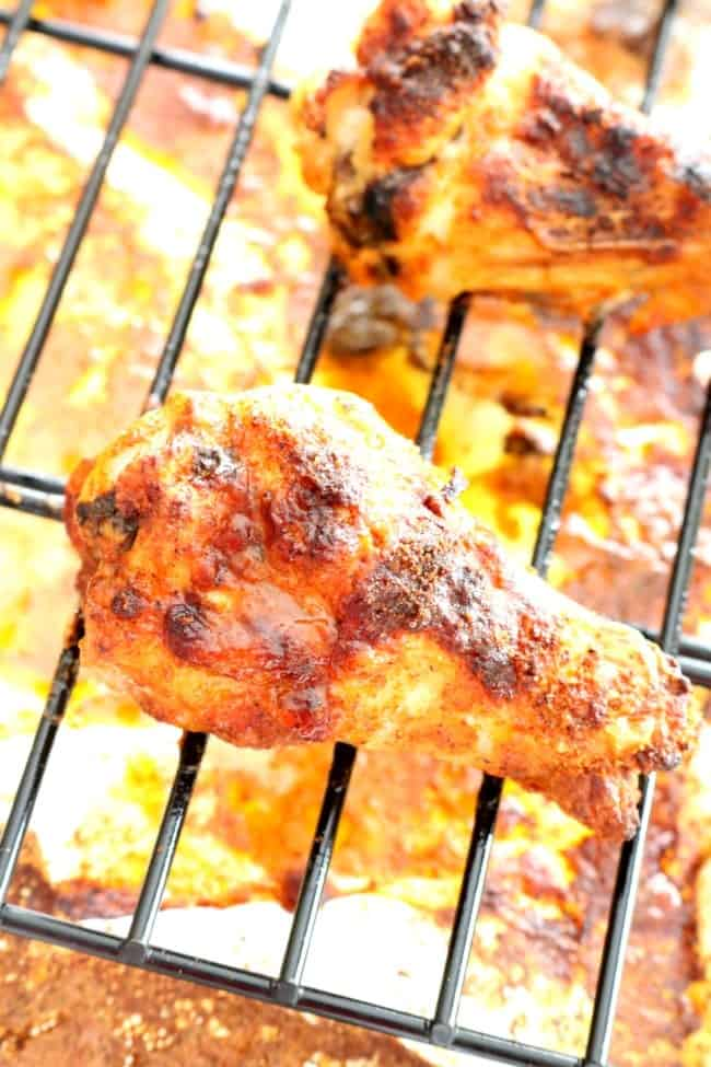 how to cook dry rub chicken wings