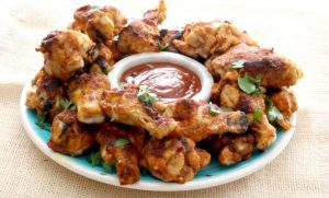 These zesty Memphis Style Barbecue Dry-Rubbed Chicken Wings win big with the home team every time! First I dry rub the chicken wings with a blend of barbecue spices that has some heat and a plenty of flavors. We then serve them with a zesty barbecue sauce that mirrors those same flavors.