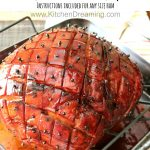 Pineapple Orange Glazed Ham 5PT