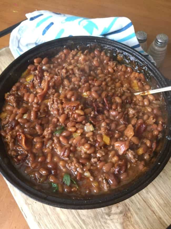 Best Ever Meaty Barbecue Baked Beans
