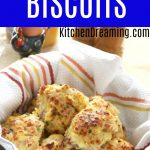 HAM AND CHEESE BREAKFAST BISCUITS MAIN