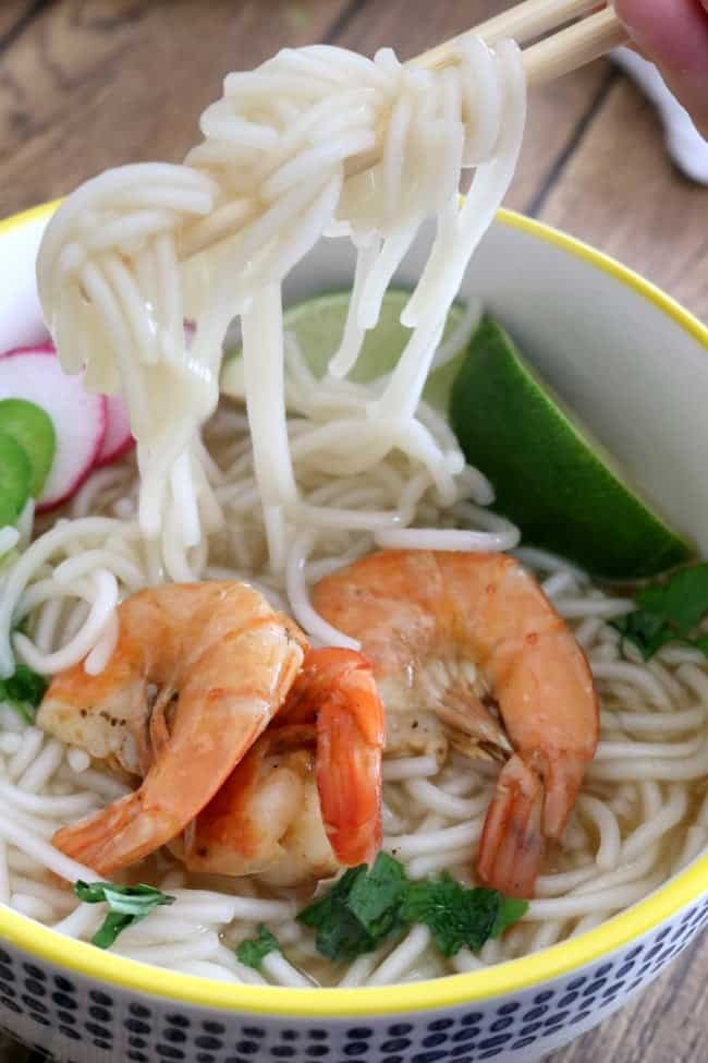 Used in so many dishes all over Asia and the Pacific Rim, being able to make Homemade Asian Rice Noodles in 10 to 15-minutes - depending on the batch size - is an awesome addition to any cook's repertoire.