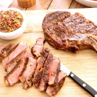 How to Grill Bone-In Ribeye Steaks
