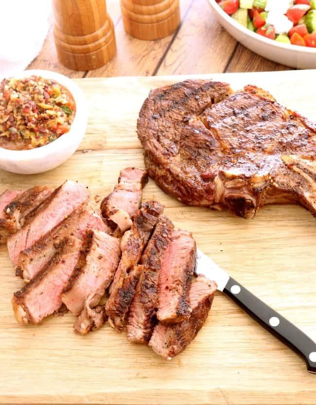 How to Grill Bone-In Ribeye Steaks