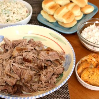 Tender, juicy and incredibly delicious, this Hawaiian-style Slow Cooker Kalua Pork has the most amazing flavor - and it only requires 3-ingredients! This quick and simple recipe will leave you dancing in the kitchen.