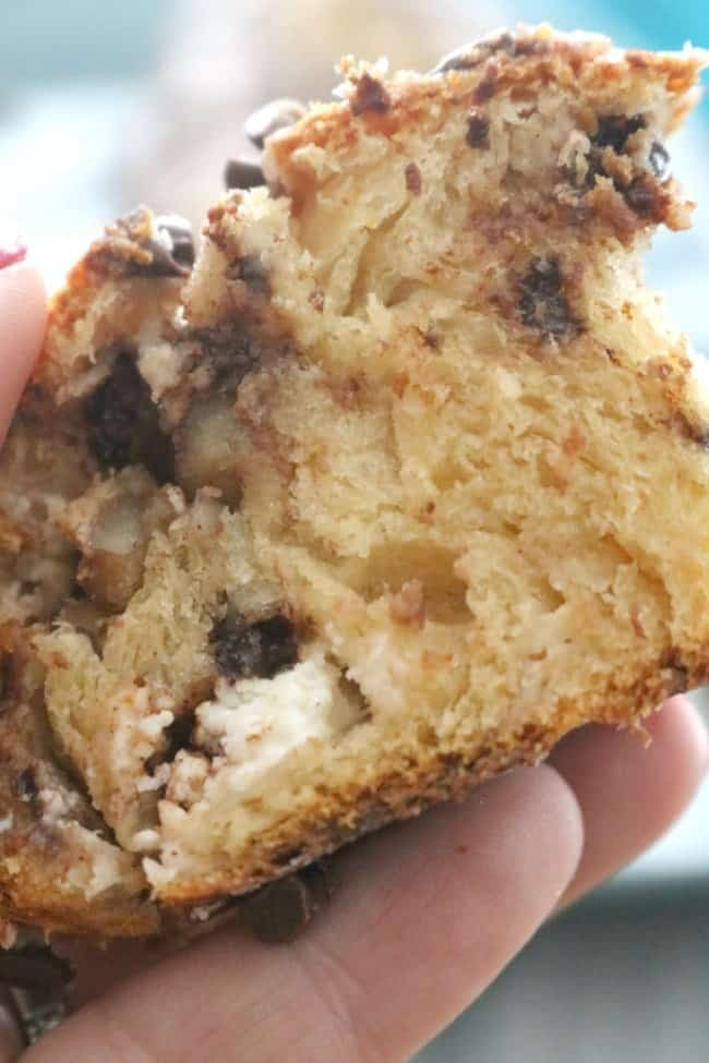 Chocolate Walnut Crescent Twist Bread starts with refrigerated crescent roll dough for a quick and easy breakfast or dessert. This chocolatey treat is a family favorite.