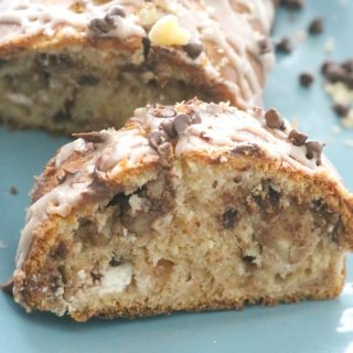 Chocolate Walnut Crescent Twist