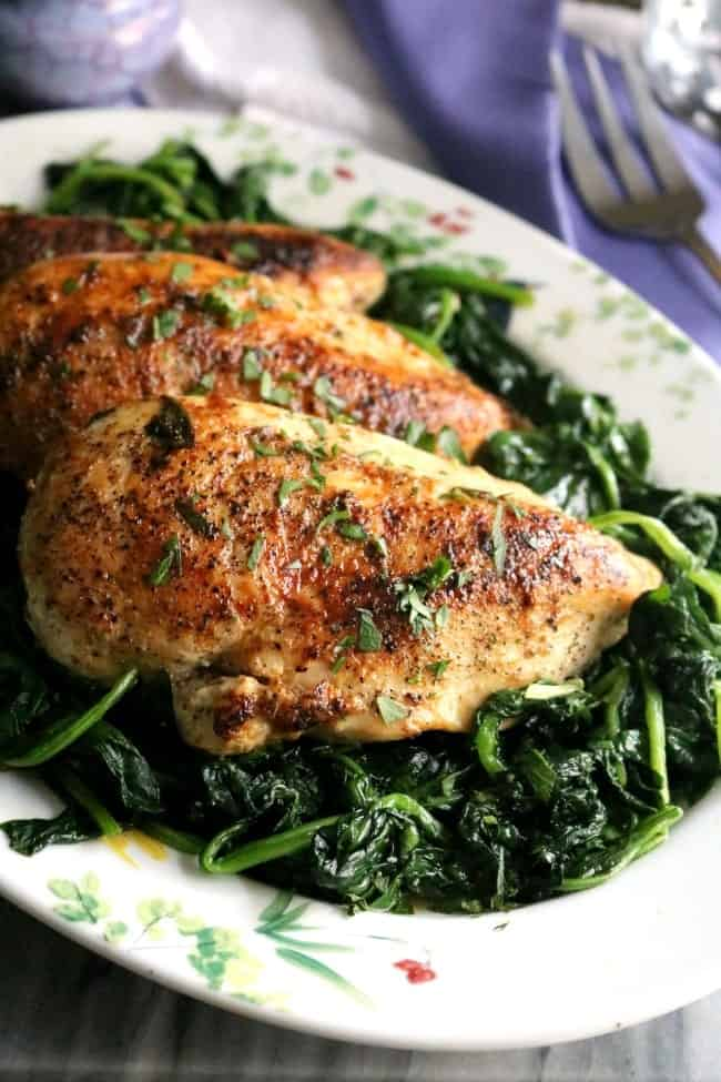 Chicken Florentine Kitchen Dreaming