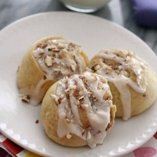Easy Raspberry Almond Sweet Rolls