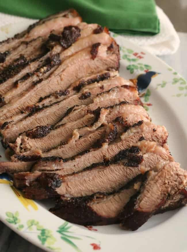 Smoked Beef Brisket is a very easy recipe, but the most important details lie in the process used to produce a succulent, melt in your mouth, brisket. All you really need are salt and pepper, a quality meat thermometer, and time. Smoking meat is a low and slow process that just cannot be rushed!