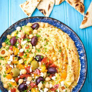 Hummus without Tahini 3